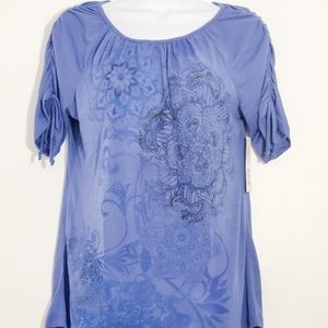 Westbound New with tags women's blue top